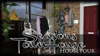 The Sims 4 House Tour  Seasons Lp Townhouse  Cc Download  Build 1