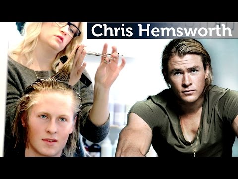 Chris Hemsworth Hairstyle Tutorial | Men's long Hair | Slikhaar TV Inspiration Channel