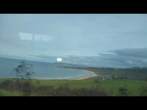 Bus from Coleraine to Ballintoy   Part 3   Northern Ireland   October 2014