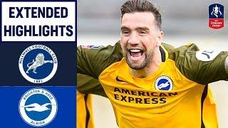 Late Goal DRAMA & Penalties! | Millwall 2-2 Brighton (4-5) | Emirates FA Cup 18/19