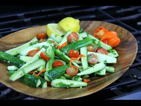 Zesty Cucumber Chow (Salad) Chris De La Rosa   CaribbeanPot com