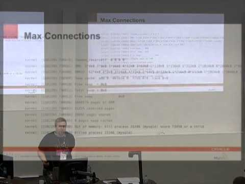 Easy MySQL server performance tuning for everyone [linux.conf.au 2014]