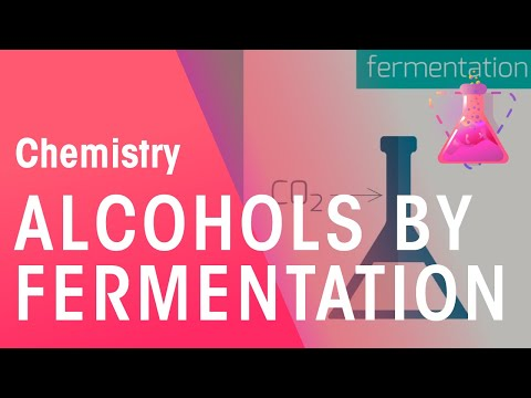 Making alcohols by fermentation and from ethene | Chemistry for All | The Fuse School