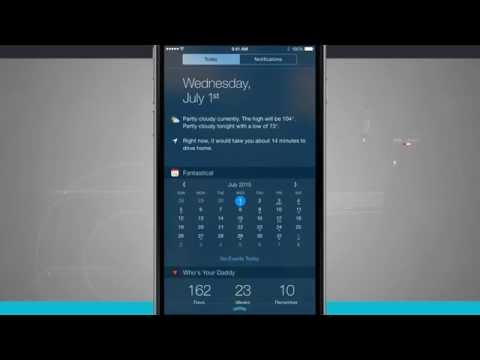 iPhone 6 Tips - How to Add Notification Center Widgets