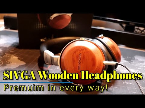 Sivga Premium Wooden Headphones - Premium sound, build quality, and comfort!