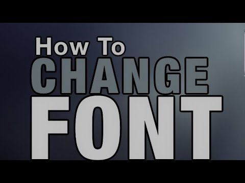 How to change default font style on your Windows Laptop.PC - With Proof,100% working