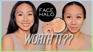 DOES IT REALLY WORK?? REMOVING MAKEUP WITH JUST WATER | FACE HALO REVIEW