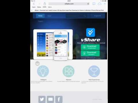How to get vshare without jailbreak