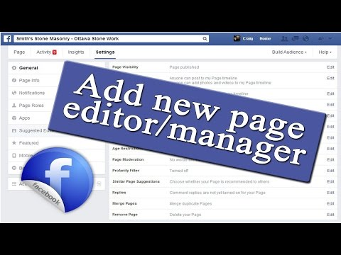 How To Add Manager To Facebook Business Page