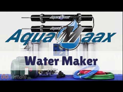 AquaMaax Marine R O  Desalinating Water Maker by ElectroMaax