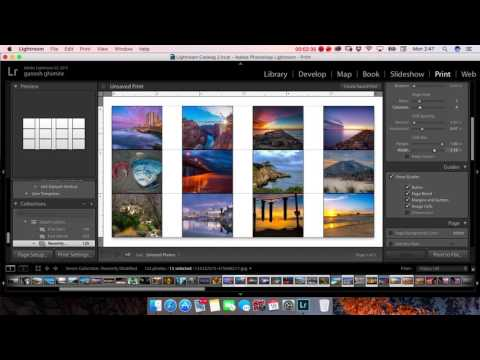 how to make facebook cover with multiple photos in lightroom.