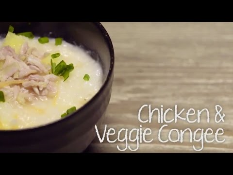 Enjoy easy recipes for your enjoyment with THERMOS Food Jar! – Chicken & Veggie Congee