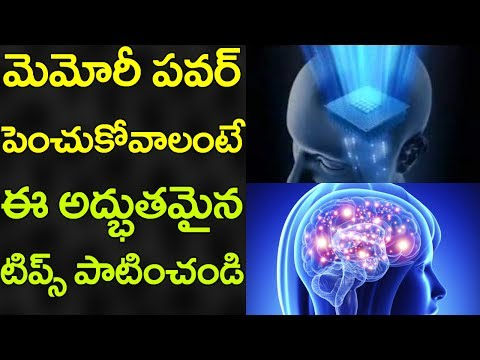 AMAZING Tips to Improve MEMORY Power! | Best Tips in Telugu | Latest Updates | VTube Telugu