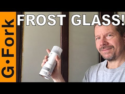 How to Frost Glass | Frosted Glass Spray Paint | GardenFork