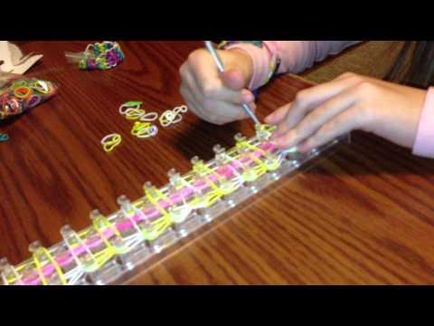 Tutorials by Isy Wonder loom Ladder Bracelet