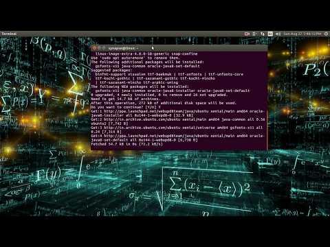 Installing java 8 on Ubuntu via terminal