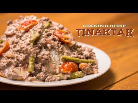 Chagi   Ground Beef Tinaktak