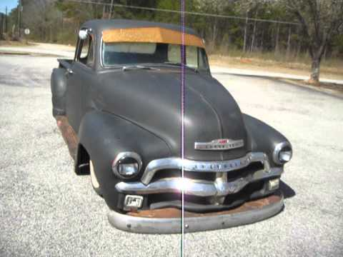 1954 Chevy 3100 Rat Rod Bagged