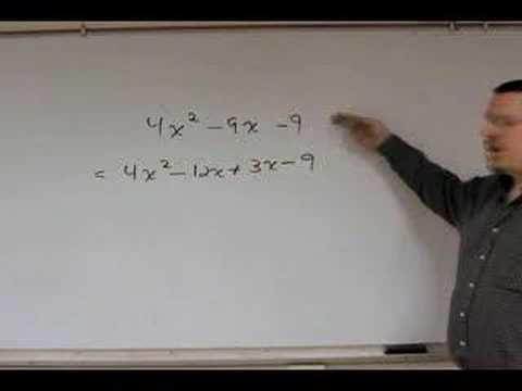 Easy Trinomial Factoring - Pt 4 - Leading Coefficient not 1