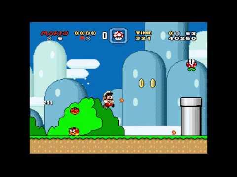Custom Super Mario World Level (Lunar Magic)