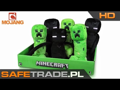 Minecraft Official Creeper and Enderman Plush Toys   www.safetrade.pl