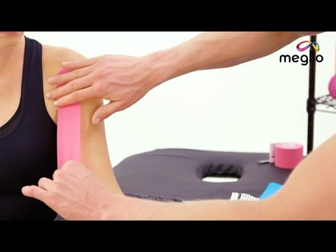 Kinesiology Tape application for Bicep Pain