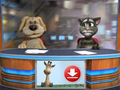 Talking Tom & Ben News high pitched voice
