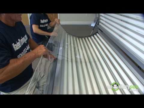 How to change your tanning bed lamps