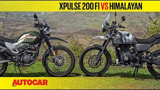 Hero XPulse 200 vs Royal Enfield Himalayan | Comparison Test Review | Autocar India