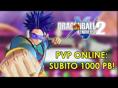 XENOVERSE 2 PVP ONLINE: PARTE LA SFIDA! SUBITO 1000 PB! - Dragon Ball Xenoverse 2 Multiplayer ITA