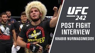 UFC 242: Khabib Nurmagomedov -