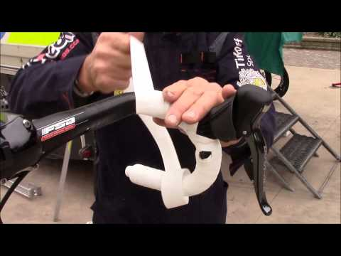How to wrap the handlebar tape