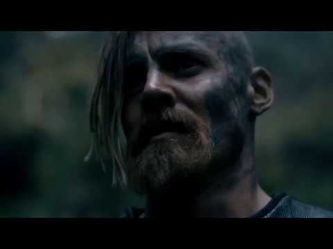 Vikings - Singing Across The Battlefield Before The Battle [Season 5 Official Scene] (5x10) [HD]