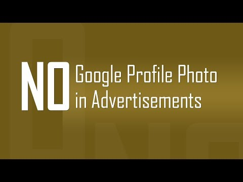Stop use of Google Profile Photo in Advertisements