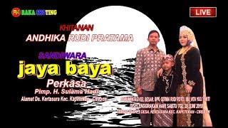 LIVE //SANDIWARA JAYA BAYA PERKASA// HAJATNYA  BPK. SERMA RUDI ROTO MALAM