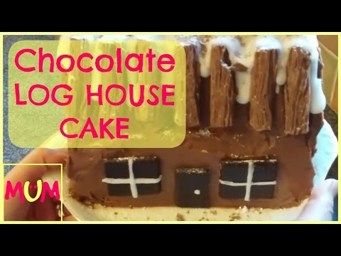 FOOD | How to Make a Chocolate Log House Cake