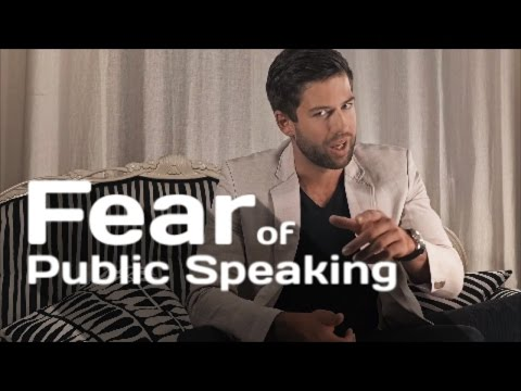 FEAR of Public Speaking - 6 TIPS for Becoming a Better Presenter