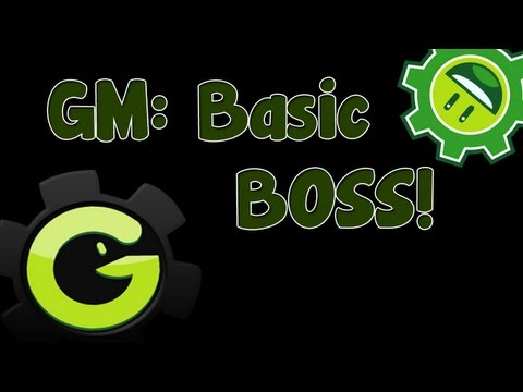 Game Maker Tutorial - Basic Boss