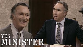 Well If Art Gets Funding, Why Shouldn't Football? | Yes Minister | BBC Comedy Greats