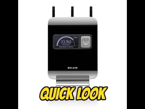 Belkin N1 Vision Router II Overview And Quick Look II