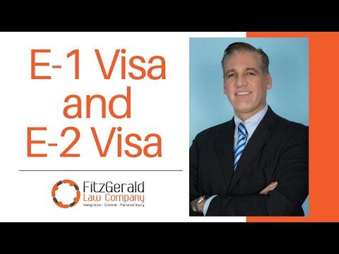 E Visas - E-1 for Traders and E-2 Visa for Investors
