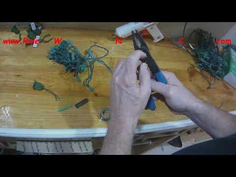 Cutting LED Light String