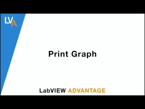 How to Print Graph - LabVIEW
