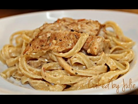 Cajun Chicken Alfredo - Cooked by Julie - Episode 21
