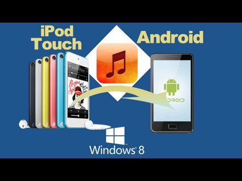 How to Copy Music from iPod Touch to Android or Transfer Music from iPod Touch to Galaxy S4?