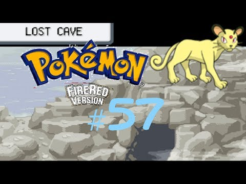 Pokémon Fire Red Episode 57: Lost Cave & Fortune Island