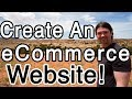 How to Create an ECOMMERCE Website with WordPress - Online Store!