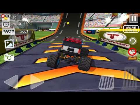 AEN Monster Truck Arena 2018 / 4x4 Monster Truck Race games / Android Gameplay FHD #3