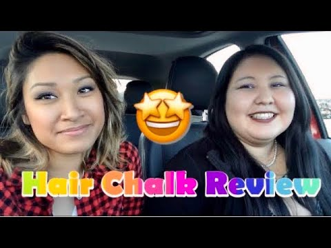 Hot Hues & Splat Hair Chalk Demo/Review | awkwardflowers