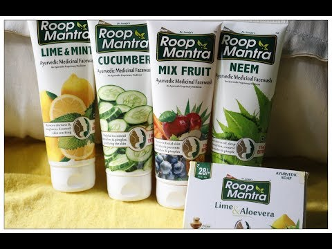 ROOP MANTRA NEEM/.CUCUMBER,MIXED FRUIT , LIME & MINT FACE WASH HONEST REVIEW